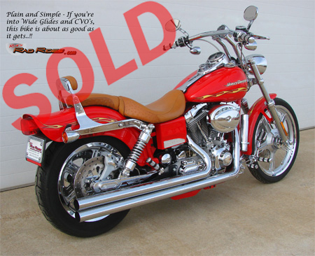 Ron S Rad Rides Llc 2001 Switchblade Fxdwg2 Wide Glide Cvo Top Notch Cars Trucks Motorcycles And Other Stylish Items